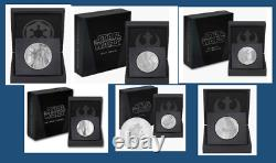 15 Niue Star Wars Classic Boba Fett, Emperor palpatine, R2D2, Darth, Leia, Obi Wan