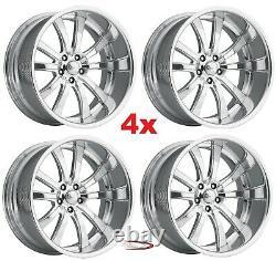 18 Pro Wheels Rims Billet Forged Custom Aluminum Foose Mags American Intro