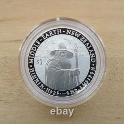 2012 The Hobbit An Unexpected Journey Silver Proof Coin Set New Zealand