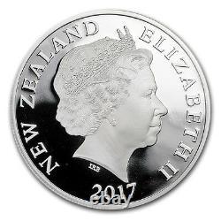 2017- 1 OZ Silver Proof Coin- Legend of Taniwha Maori Art