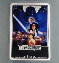 2017 PCGS PR70 D-Cam Star Wars Return of the Jedi 1oz. 999 Fine Silver $2 Niue
