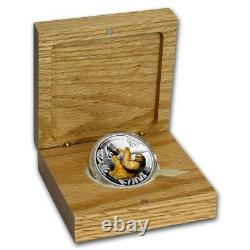 2018 1 OZ Silver Proof Coin Wildlife Three Toed Sloth Coin
