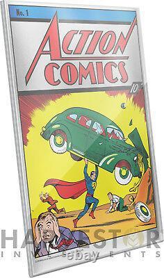 2018 DC Comics Action Comics #1 Premium Silver Foil 35 Grams Solid Silver