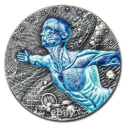 2018 Niue 2 oz Antique Silver Code Of The Future Immortality SKU#205667
