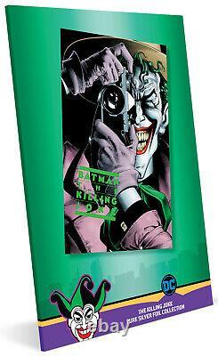 2019 BATMAN THE KILLING JOKE 35g Pure Silver Foil