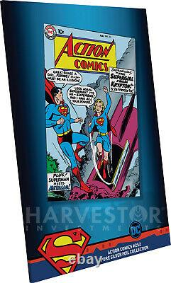 2019 DC Comics Action Comics #252 Premium Silver Foil Cgc 10 Gem Mint Fr