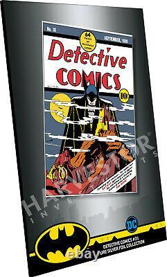 2019 DC Comics Detective Comics #31 Premium Silver Foil 35 Grams Silver