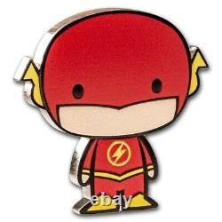 2020 1 Oz Silver Proof Chibi Coin DC Comics The Flash Chibi