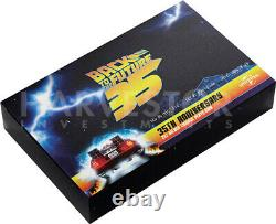 2020 Back To The Future 35th Ann Outatime License Plate Ngc Ms70 First Release