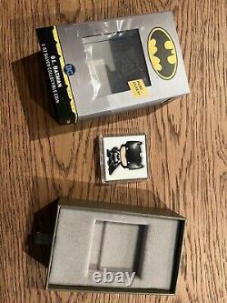 2020 Chibi DC Batman 1oz Silver Coin 579/2000