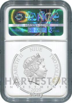 2020 HARRY POTTER 1 OZ. SILVER COIN CLASSIC NGC PF70 FIRST RELEASES WithOGP