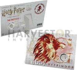 2020 Harry Potter Crests Complete 5-coin Collection Ngc Pf70 First Releases