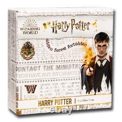 2020 Niue 1 oz Proof Silver Harry Potter SKU#221521
