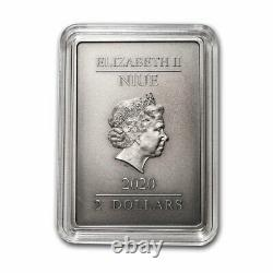 2020 Niue 1 oz Silver Coin $2 The Caped Crusader SKU#212268