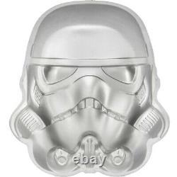 2020 Niue 2 oz Silver Star Wars Stormtrooper Helmet UHR