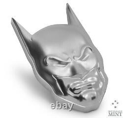 2020 Niue $5 DC Comics Batman Cowl Mask 2 oz. 999 Silver Coin 5,000 Made