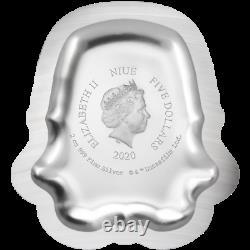 2020 Niue $5 Star Wars Stormtrooper Helmet 2 oz. 999 Silver Coin 5,000 Made