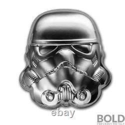 2020 Niue Star Wars Helmets Stormtrooper 2 oz Silver UHR