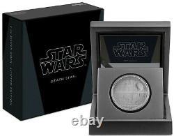 2020 STAR WARS DEATH STAR 1 OZ. SILVER COIN Present / Gift