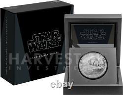2020 Star Wars Classics Lando Calrissian 1 Oz. Silver Coin With Ogp Coa