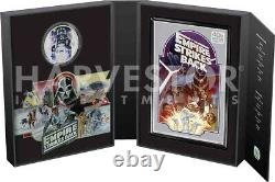 2020 Star Wars Empire Strikes Back 40th Anniversary Silver Coin & Note Set