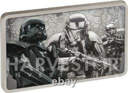 2020 Star Wars Guards Of The Empire Death Trooper 1 Oz. Silver Coin Ogp