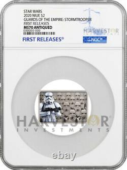 2020 Star Wars Guards Of The Empire Stormtrooper Ngc Ms70 First Releases