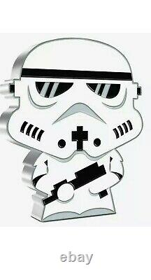 2020 Stormtrooper 1 Oz CHIBI COIN STAR WARS SERIES