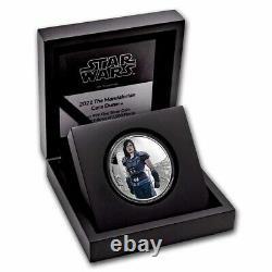 2021 Niue 1 oz Silver $2 Star Wars Cara Dune (withBox & COA) SKU#229932