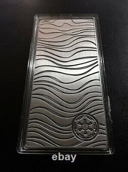 2021 Niue $20, 10 oz Star Wars Mandalorian. 999 Fine Silver Beskar Bar, IN STOCK