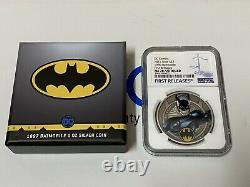 2021 Niue BATMOBILE 1997 BATMOBILE NGC MS70 First Releases WithOGP