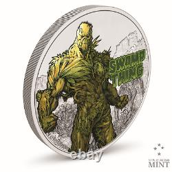 2021 Niue Justice League SWAMP THING 1 oz Silver Proof Coin IN HAND DC Comics