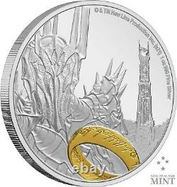 2021 Niue Lord of the Rings Sauron 1 oz. 999 Silver Proof Coin Ready To Ship