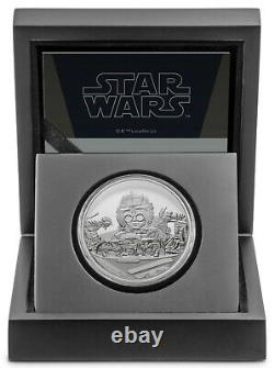 2021 Niue Star Wars Classic Anakin Skywalker 1 oz Silver Proof Coin 10000 Made