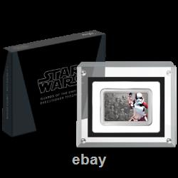 2021 Niue Star Wars Guards of Empire Executioner Trooper 1 oz Silver Coin Bar