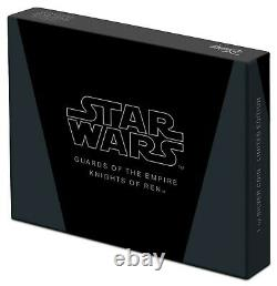 2021 Niue Star Wars Guards of the Empire Knights of Ren 1 oz Silver Coin Bar