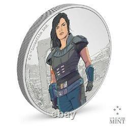 2021 Niue Star Wars Mandalorian Cara Dune 1 oz Silver Coin SOLD OUT