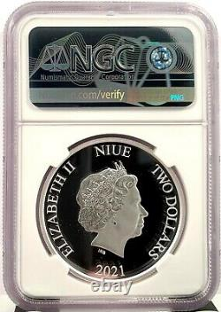 2021 Niue Winnie the Pooh & Friends 1 oz Silver Proof Coin NGC PF 70 UCAM