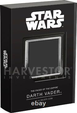 2021 Star Wars Faces Of The Empire Darth Vader Ngc Pf70 First Releases