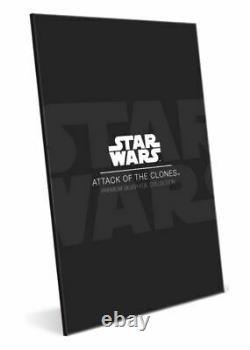 ATTACK OF THE CLONES STAR WARS SILVER FOIL 2019 NZ MINT 35g CGC 9.9 MINT