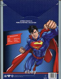 Action Comics #1 CGC 10.0 35 Grams Silver Foil 2018 DC Superman First Release