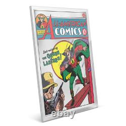 All American Comics #16 DC Comics Premium Silver Foil Cgc 9.9 Fr