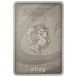 COA #0019 SALLY NIGHTMARE BEFORE CHRISTMAS 2021 1oz SILVER COIN $2 NZ MINT