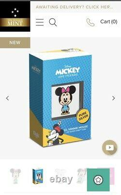Chibi Coin Disney Series Minnie Mouse 1oz Silver SOLD OUT! Pre Sale