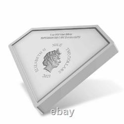 DC COMICS SUPERMAN SHIELD 2021 NIUE 1oz SILVER COIN NGC PF 70 FIRST RELEASES OGP