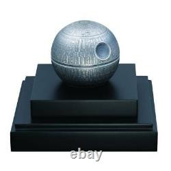 DEATH STAR 2020 1 Kilo $100 Pure Silver Spherical Coin with Box and COA NIUE