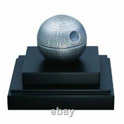 Death Star Star Wars World Premiere 1 Kilo $100 Pure Silver Spherical C