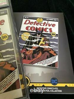 First Release 2019 DC Detective Comics #31 Silver Foil Cgc 9.9 Mint Batman
