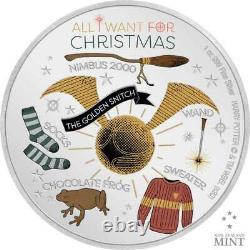 HARRY POTTER SEASONS GREETINGS 2020 Niue 1oz silver coin