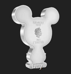 LOW SERIAL #65 Chibi Coin Collection Mickey Mouse 1oz Silver Coin